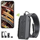 DDENDOCAM Endoscopio Industrial WiFi inalámbrico,...