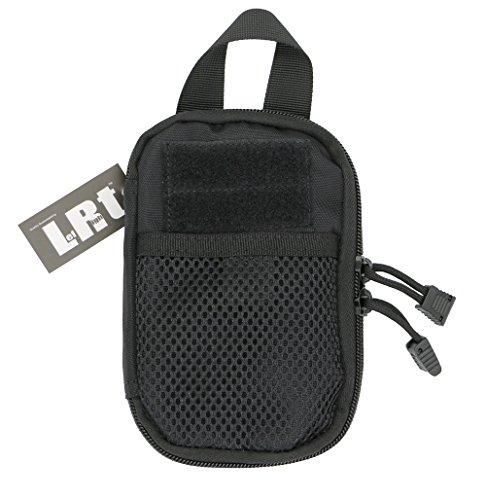 LefRight Mini Taktisch MOLLE EDC kompakt Tasche Veranstalter Beutel (schwarzz)