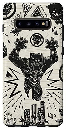 Galaxy S10+ Marvel Black Panther Wakanda Forever Inked Case