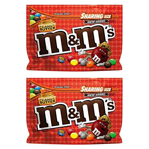 M&M's Erdnussbutter und Schokolade - 2er Pack (2x272g)