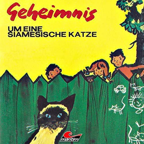 Geheimnis um eine siamesische Katze audiobook cover art