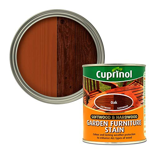 CUPRINOL 5158525 Garden Furniture Stain Exterior Woodcare, O