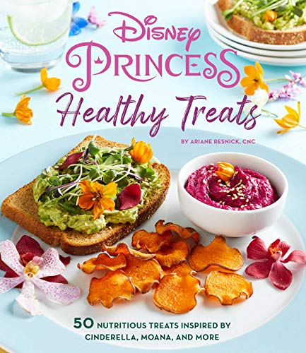 Disney Princess: Healthy Treats Cookbook (Kids Cookbook, Gifts for Disney Fans)