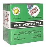 Anti–adipöse Tee Gewicht Verlust entgiftende Abführmittel Effekt 4x 30Staubbeutel