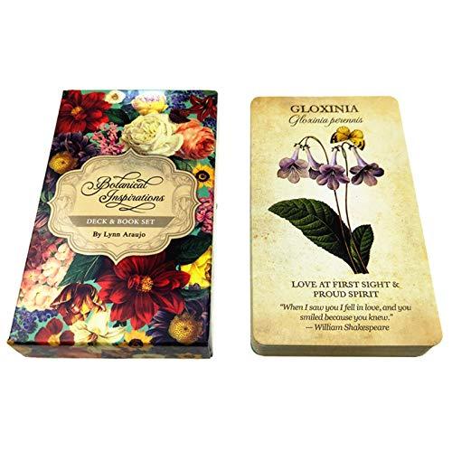 llio Botanical Inspiration Oracle Cards Juego de Mesa de Rebajas Viernes Negro...