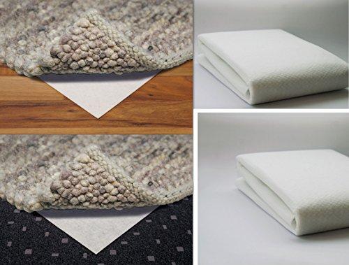 MB Warenhandel24 Teppich Bremse Stop Teppichunterlage für Harte Textile alle Böden Anti Rutschunterlage Rutsch Unterlage Premiumqualität (ca. 120x170 cm)