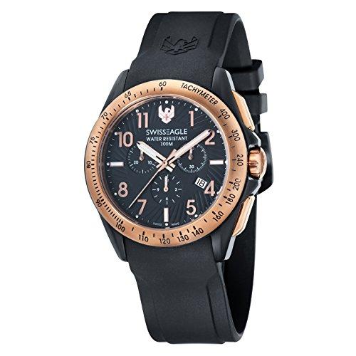 Swiss Eagle Herren- Armbanduhr Analog Quarz SE-9061-05