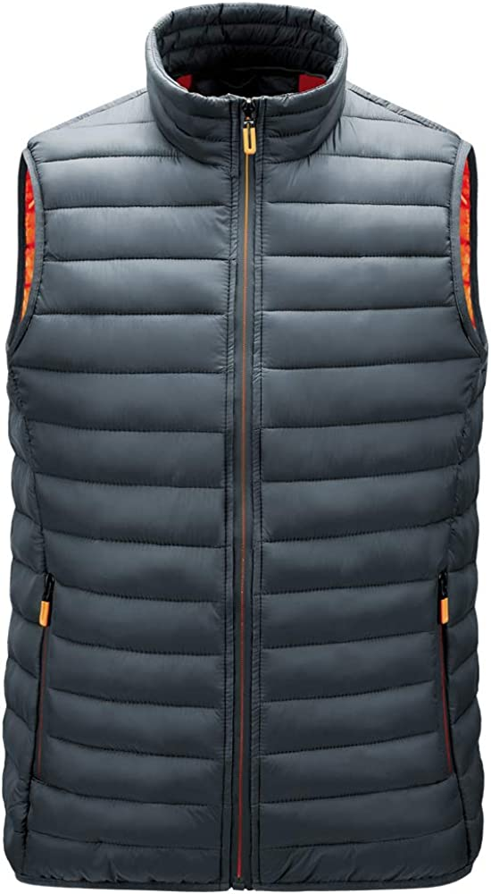 Boys Light-Weight Water-Resistant Packable Puffer Vest
