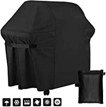 AKL BBQ Cover Outdoor Barbecue Cover Waterproof Heavy Duty 210D Oxford Cloth with PU Coating Outdoor Gas Grill Cover