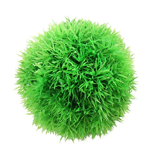 sourcingmap Boule de Mousse en Plastique pour Aquarium Vert 17,8-25,5 cm