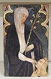 Ikona Santa Caterina von Siena 15 x 23 cm Icon St.