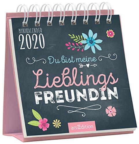 Minikalender Du bist meine Lieblingsfreundin 2020