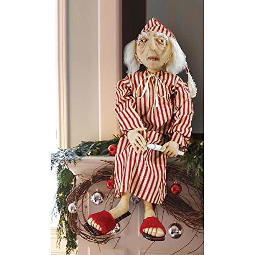 GALLERIE II Ebenezer Scrooge Joe Spencer Gathered Traditions Art Doll Red