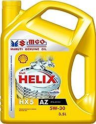 Shell Helix HX5 550039350 MGO 5W-30 API SL Premium Mineral Engine Oil (3.5 L),Shell India Markets Pvt Ltd,HELIX HX5,550039350