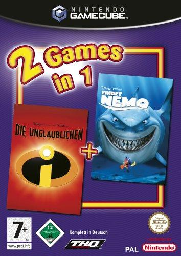 2 Games in 1 - Findet Nemo + Die Unglaublichen