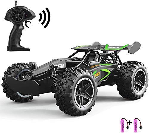 SZJJX RC Auto Ferngesteuertes Auto Kindergeschenk 2,4 GHz 20 km/h Hochgeschwindigkeit 1/18 2WD Rennwagen RTR Elektrischer Schnelles Rennen Buggy Hobby Spielzeug für Kinder Geschenk