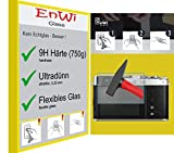 EnWi | 2X Panzer-Glas-Folie 9H Bildschirm-Schutz-Folie für FujiFilm X-E4