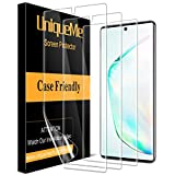 [3 Pack] UniqueMe Screen Protector Compatible with Samsung Galaxy Note 10 Plus/Samsung Galaxy Note 10+ / Note 10 Plus 5G,[Fingerprint Available] TPU Film