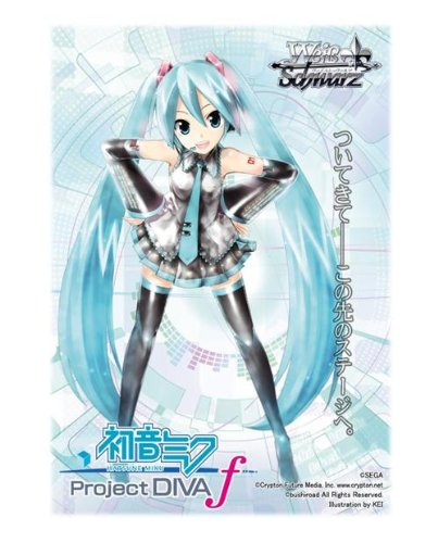 "Carte Weib Schwarz Project Diva Hatsune Miku /""Little Red/"" !!!"