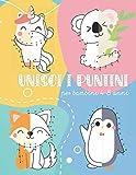 Unisci I Puntini Per Bambini 4-8 Anni: Collega i puntini e completa tantissime figure di animali, mezzi e lettere imparando a contare, a conoscerne i nomi ed a scriverli.