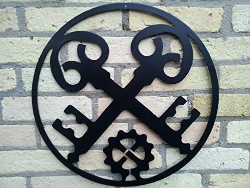 Metall-Design-Dithmarschen Innung, Zunftzeichen der Schlosser (40cm)