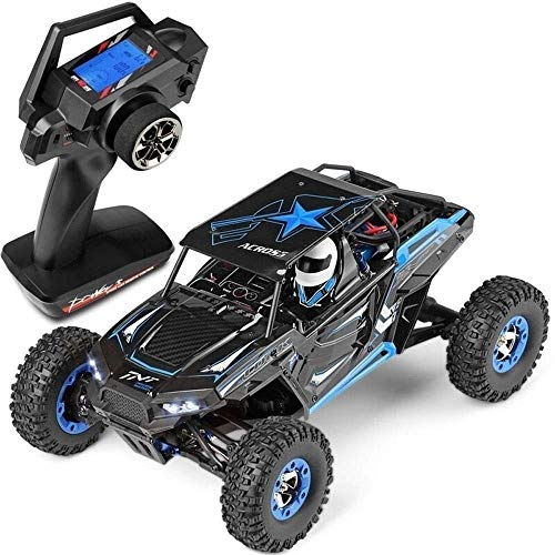 Best Deals! Woote Kids RC Four-Wheel Drive Toy Gift Off-Road Vehicle Four-Wheel Drive Climbing High-Speed Waterproof Boy Toy Car Bigfoot Charge Electric Four-Wheel Drive 1:12 Remote Control High-Speed Car
