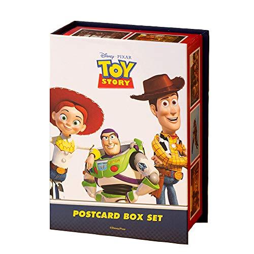 Disney Toy Story トイ・ストーリー キャラクター ポストカード セット(ポストカード 100枚 + ステッカー 3枚 + スペシャルBOX)
