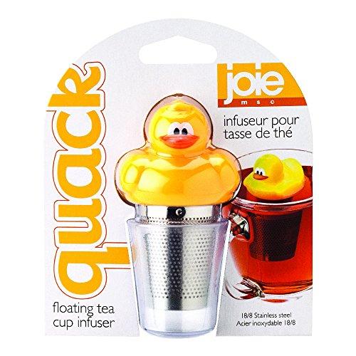 MSC International Joie Quack Duck Floating Tea Infuser, 18/8 Stainless Steel Infuser