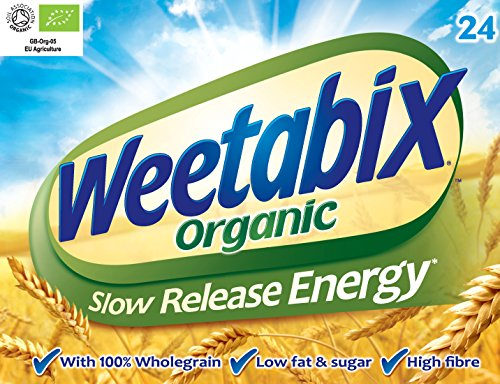 Weetabix - Organic Whole Wheat Cereal 24s 450g