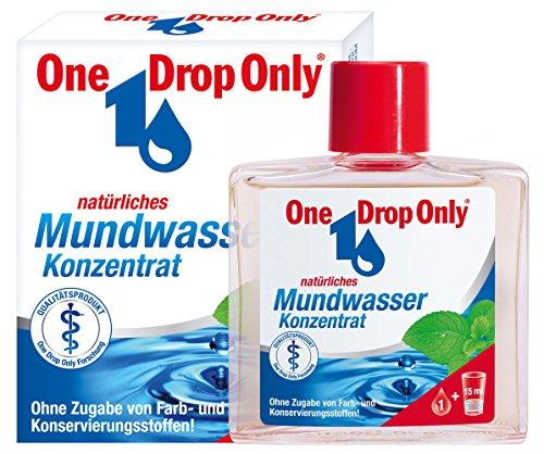 One Drop Only Natürliches Mundwasser Konzentrat, 3er Pack(3 x 25 ml)