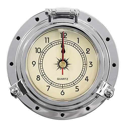 D DOLITY Hombre Sport Reloj de Pulsera analógico de Cuarzo Relojes Reloj Unisex de Moda Joyas Accesorios Reloj Rostro, diámetro: 10cm/3.94zoll