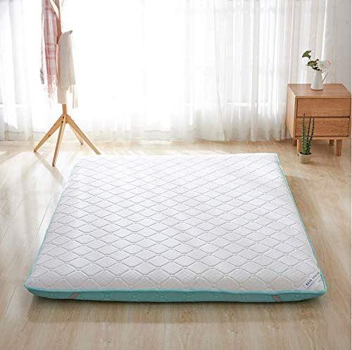 Save %41 Now! TOBY Floor Futon Mattress, Matt Mat Sleeping Pad Queen Size Foldable Breathable Mattre...