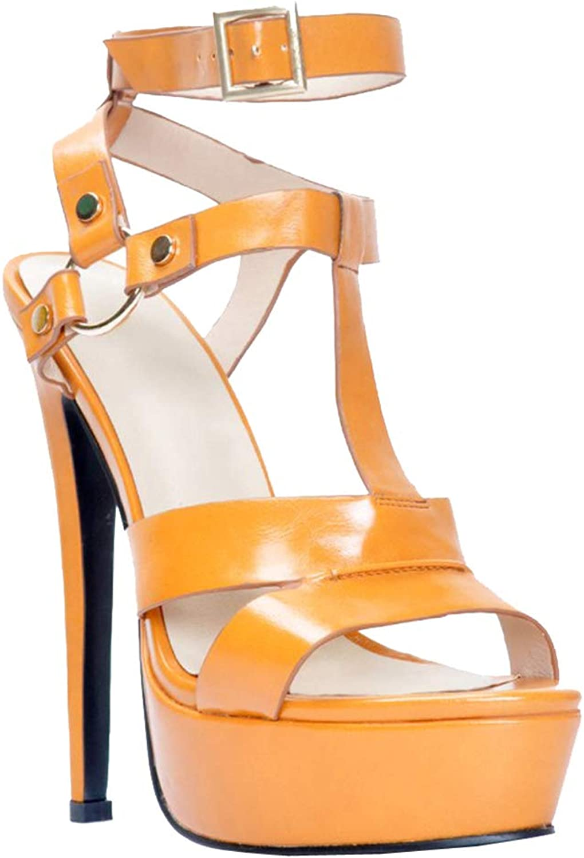 CASSOCK Women Handmade High Heel Platform Sandals T-Strap Sexy BFCM Style Big Size Open Toe Fashion Sandal shoes
