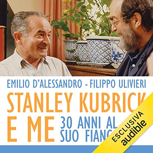Stanley Kubrick e me audiobook cover art