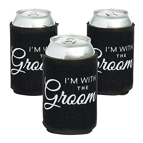 Read About Prem Neo With The Groom Can Covers (Dz) - Party Supplies - 12 Pieces
