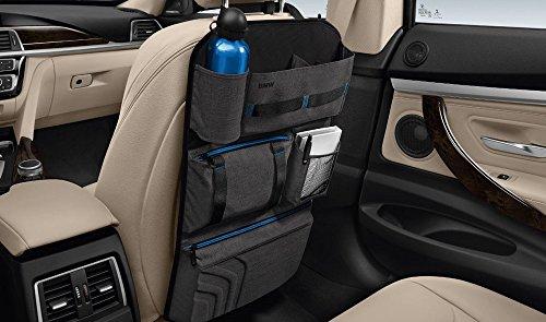 Original BMW Lehnentasche schwarz grau