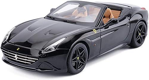 Hyzb Modèle De Voiture 1 18 Ferrari Californie Simulation en Alliage Moulage sous Pression Jouet OrneHommests Collection De Voitures De Sport Bijoux 26x11.3x6.2CM