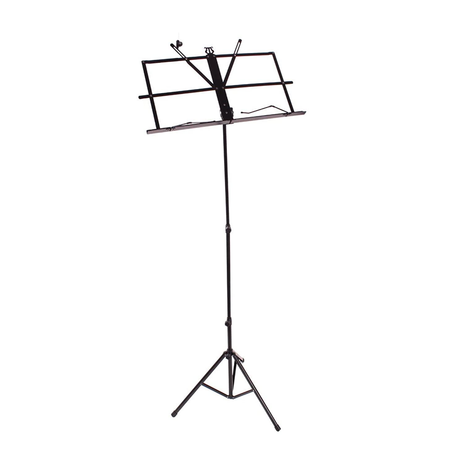 Sheet Music Stand Metal with Carrying Bag Music Stand Collapsible Orchestra Portable Music Sheet Clip Holder & Carrying Bag Folding Travel Metal Music Stand Sheet Music Stand Folding Travel Metal