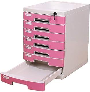 Qazxsw Armoire à dossiers A4 à Sept Couches Armoire à tiroirs de Bureau Boîte de Rangement Armoire de Rangement Armoire d'...