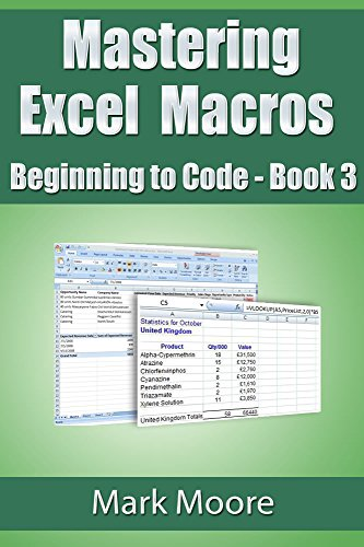 Mastering Excel Macros: Beginning to Code (Book 3) (English Edition) PDF Books