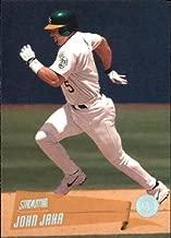 2000 Stadium Club #104 John Jaha MLB Baseball Trading Card