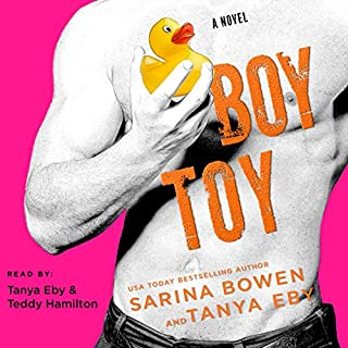 Boy Toy audiobook cover art