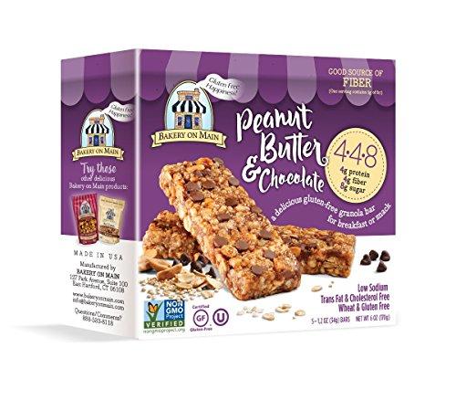 Bakery On Main 4.4.8 Peanut Butter & Chocolate Granola Bars (6x5/1.2 OZ)