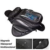 WINNTT Magnetic Waterproof Motorcycle Tank Bag Transparent Visibility...