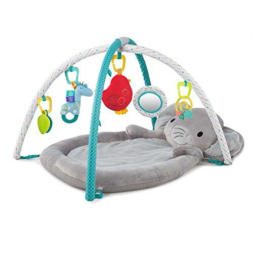 Comfort & Harmony Enchanted Elephants New Born to Toddler Play Activity Gym Mat