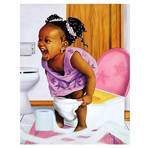 Puzzle 1000 piezas Niña africana en el baño foto de baño artístico puzzle 1000 piezas clementoni Rompecabezas educativo de juguete para aliviar el estrés intelectual Rompecabe50x75cm(20x30inch)