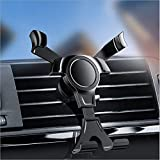 ZCLS Gravity Car Air Vent Mount Soporte para Cuna Soporte para teléfono móvil GPS Soporte Interior para automóviles Soporte