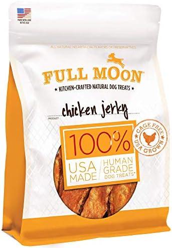 Full Moon Chicken Jerky Healthy All Natural Dog Treats Human Grade Made in USA Grain Free 6 product image