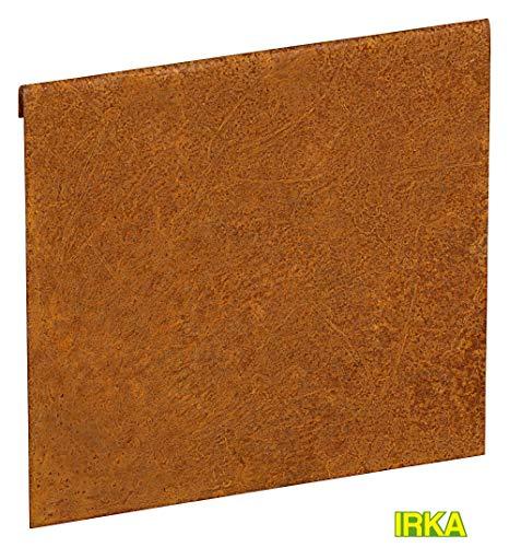 IRKA Verbinder Corten Stahl für Rasenkantenband 20 cm