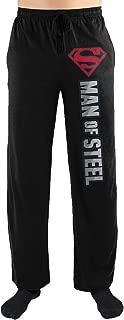 Superman Man Of Steel Symbol Print Men's Sleepwear Lounge Pants